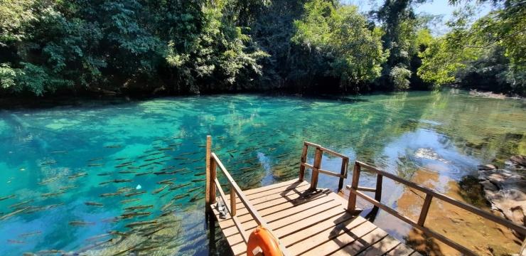 Recanto Ecológico Rio da Prata está aberto para visitação turística